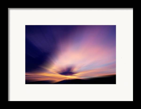 Landscape Framed Print featuring the photograph Dazzlingly by Kevin Bone
