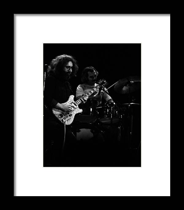 Jerry Garcia Framed Print featuring the photograph Dead #19 by Ben Upham