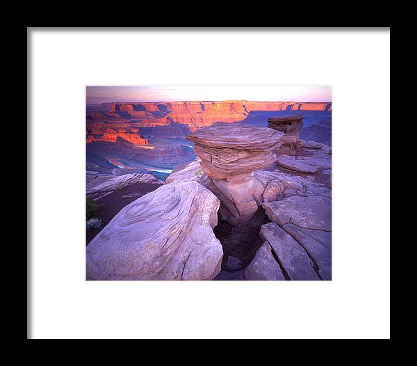 Canyonlands National Park Framed Print featuring the photograph Dead Horse Sunrise by Ray Mathis