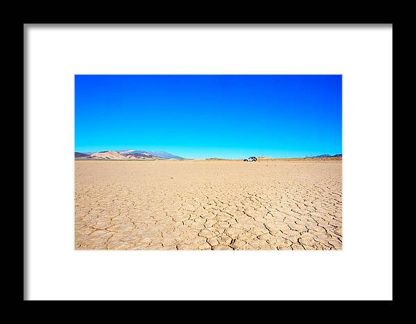 Landscape Framed Print featuring the photograph Death Valley Discovery by Alyaksandr Stzhalkouski