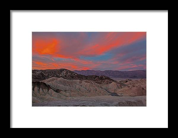 Death Valley Photographs Framed Print featuring the photograph Death Valleyt by Larry Gohl