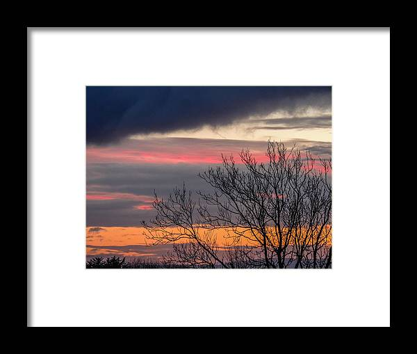 Celtic Skies Framed Print featuring the photograph December County Clare Sunrise by James Truett