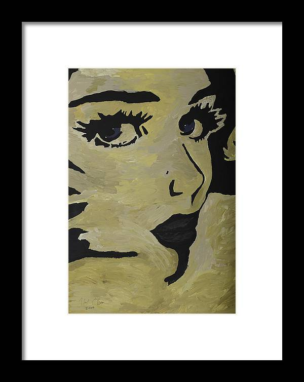 Woman Framed Print featuring the painting Candy by Kurt Olson