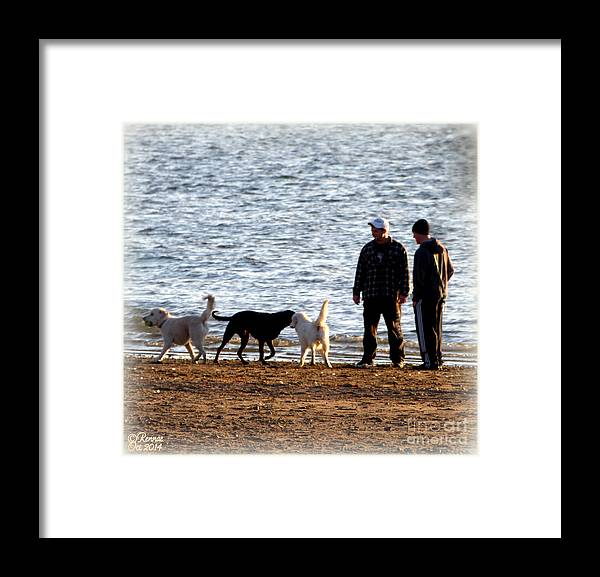 Lake Framed Print featuring the photograph Delta Lake Beach by Rennae Christman