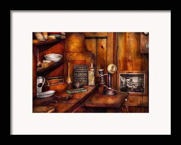 Dentist Framed Print featuring the photograph Dentist - Time For Your Next Appointment by Mike Savad
