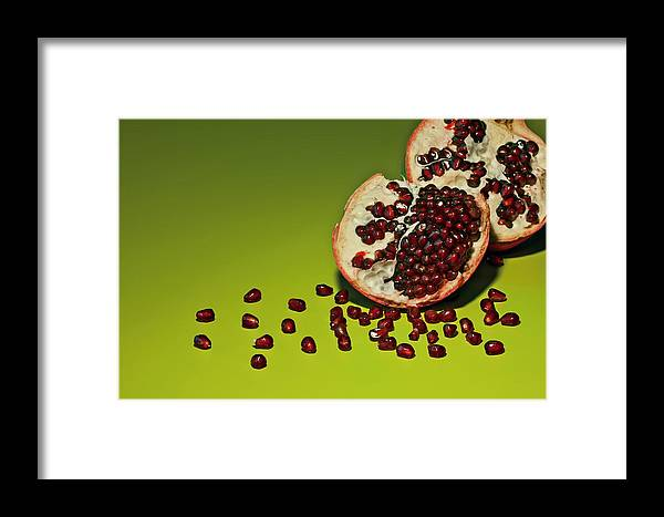 Seed Framed Print featuring the photograph Departed by Evelina Kremsdorf