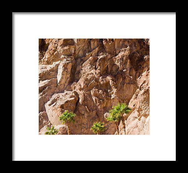 Framed Print featuring the photograph Desert Mountain by Douglas Barnett