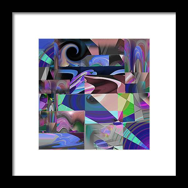 Design Framed Print featuring the photograph Design Square 33 by Joe Connors