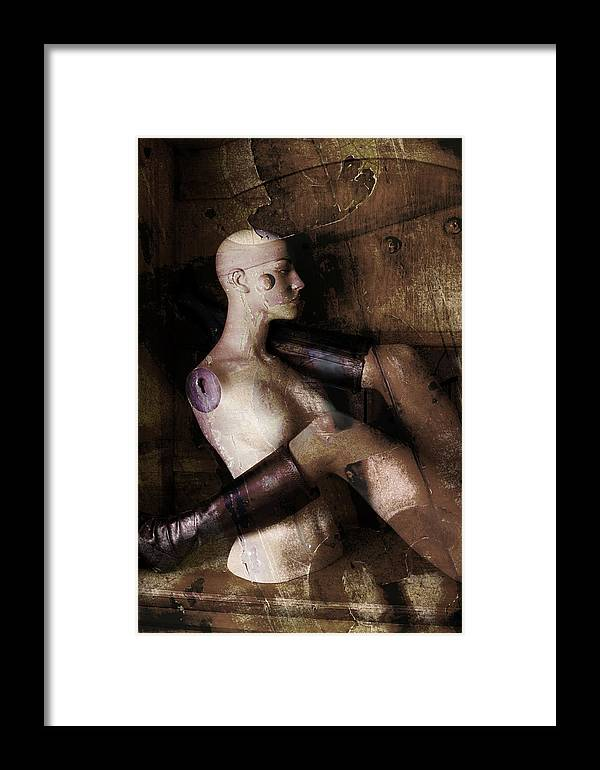 Manaquin Framed Print featuring the photograph Desire by Andrew Giovinazzo