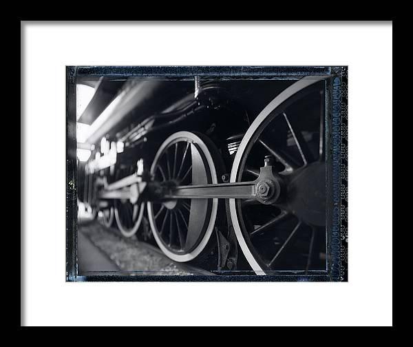 Steam Engine Framed Print featuring the photograph Detail Steam Engine by Robert Klemm