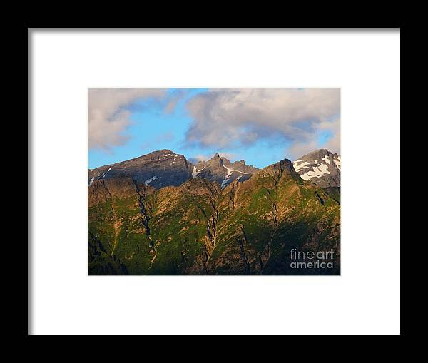Alps Framed Print featuring the photograph Determined by Agnieszka Ledwon