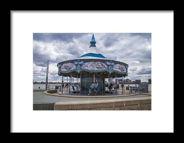 Detroit Framed Print featuring the photograph Detroit Carousel by John McGraw