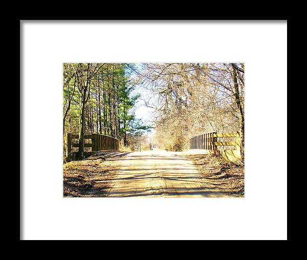 Landscape Framed Print featuring the photograph Different Seasons by Stephanie DeBoard