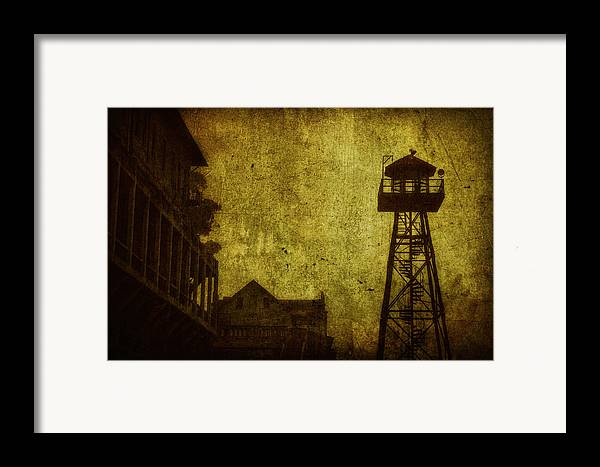 Alcatraz Framed Print featuring the photograph Diminished Dawn by Andrew Paranavitana