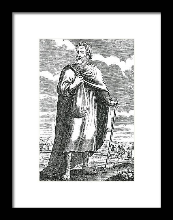 Diogenes Of Sinope Ancient Greek Framed Print