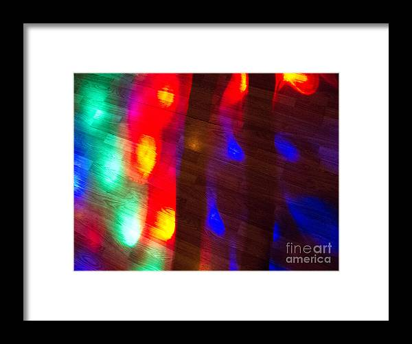 Lightscape Framed Print featuring the photograph Discotheque by Amy Bynum