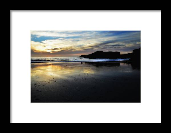 Shore Framed Print featuring the photograph Distant Shores by Donna Blackhall