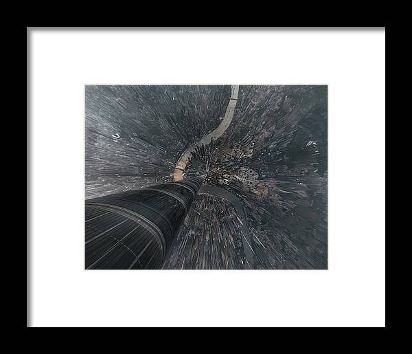 Shanghai Framed Print featuring the photograph Dive Into The Matrix by Stan Huang