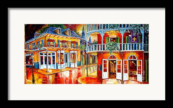 New Orleans Framed Print featuring the painting Divine New Orleans by Diane Millsap