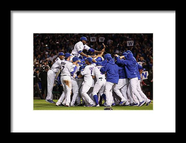 American League Baseball Framed Print featuring the photograph Division Series - St Louis Cardinals V by Jonathan Daniel