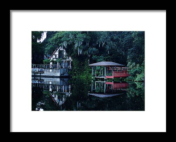 Dock Framed Print featuring the photograph Dock by Chauncy Holmes