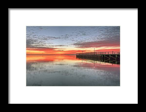 Bay Framed Print featuring the photograph Dock On The Bay by J Charles
