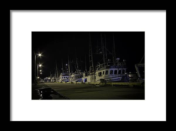 Building Framed Print featuring the photograph Dockside by Crystal Fudge