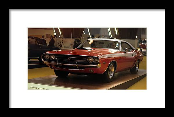 Dodge Framed Print featuring the photograph Dodge 1971 Challenger R/t by Dragan Kudjerski