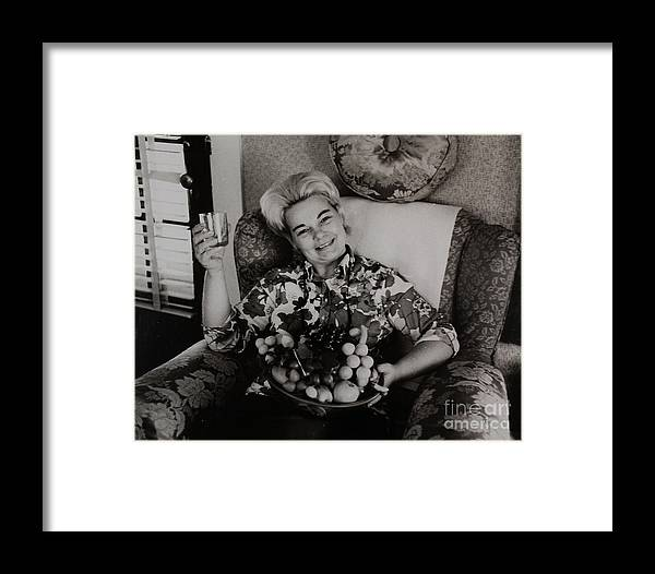 Alcohol Framed Print featuring the photograph Domestic Tranquility by David Vine