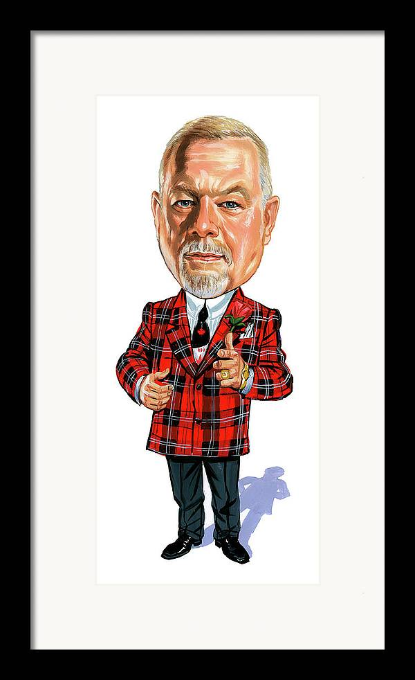 Don Cherry Framed Print featuring the painting Don Cherry by Art