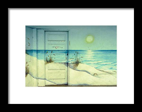 Architecture Framed Print featuring the photograph Door Of Perception by Skip Hunt