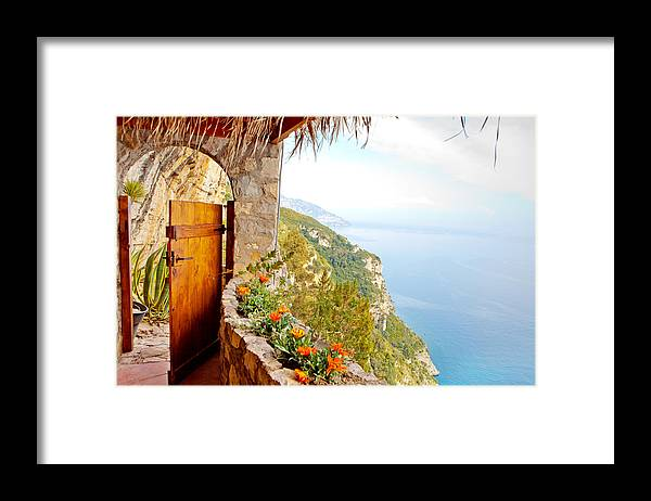 Door Framed Print featuring the photograph Door to Paradise by Good Focused