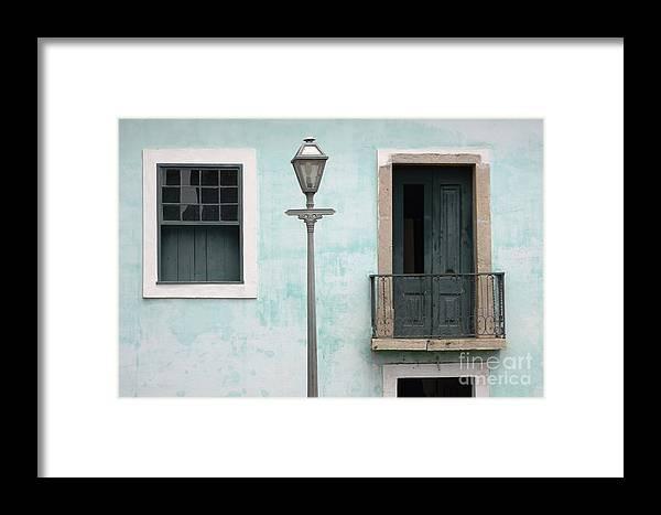 Door Framed Print featuring the photograph Doors Of Alcantara Brazil 2 by Bob Christopher