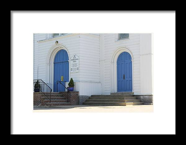 Church Framed Print featuring the photograph Doors To Worship by Horst Duesterwald