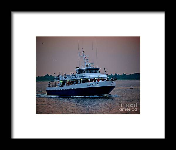 Lbi Framed Print featuring the photograph Doris Mae Iv by Mark Miller