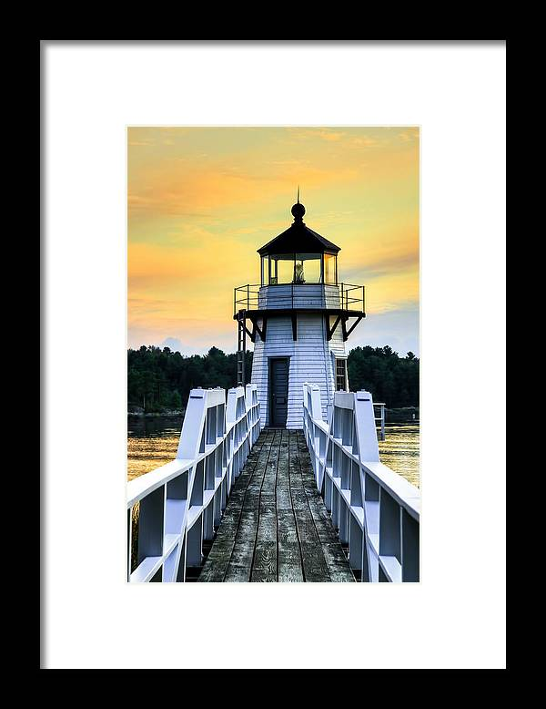 Landscape Framed Print featuring the photograph Double Love by Brenda Giasson