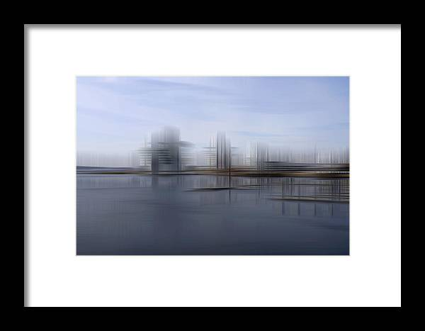 Cardiff Framed Print featuring the photograph Down The Bay by Kevin Round