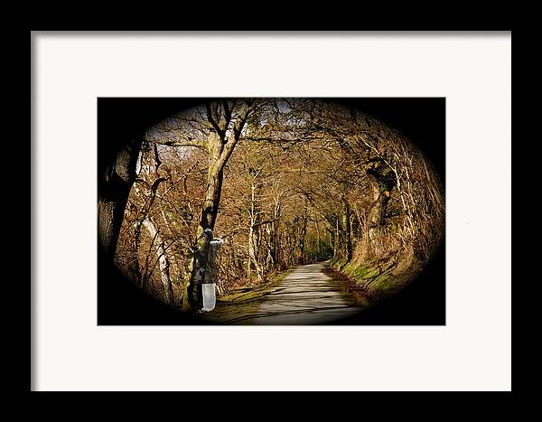 Spirit Framed Print featuring the photograph Down There by Christopher Rowlands