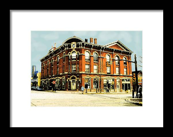 Doylestown Framed Print featuring the photograph Doylestown-lenape Hall by Addie Hocynec