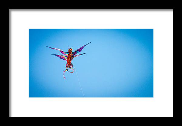 Dragon Framed Print featuring the photograph Dragon Kite by Alexander Ferguson