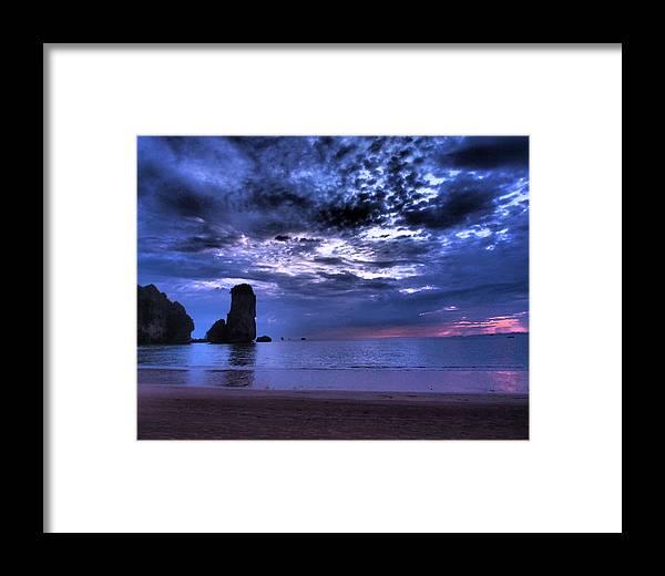 Sunset Framed Print featuring the photograph Dramatic Sunset by Kaleidoscopik Photography