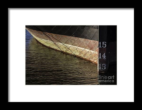 Atlantic Framed Print featuring the photograph Drawing 13 by Joe Geraci
