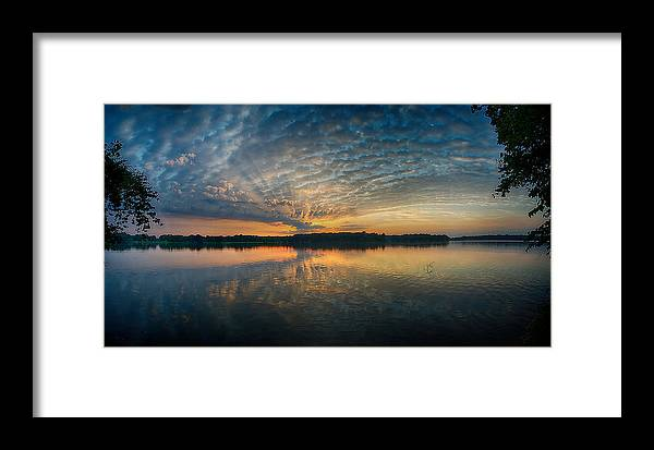 Sunrise Framed Print featuring the photograph Drawn To The Sun by Dan Holland