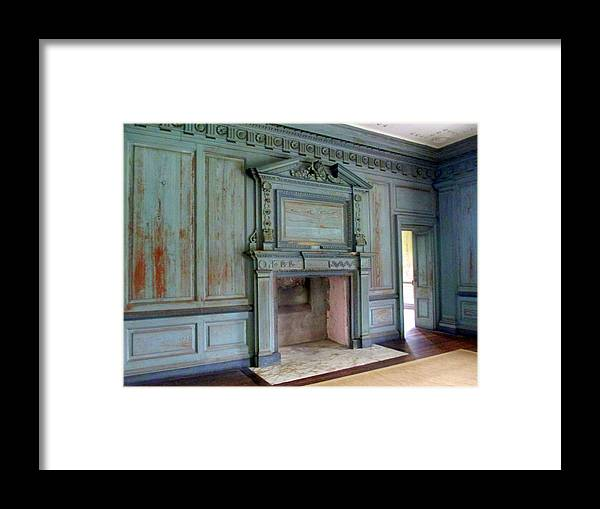 Drayton Framed Print featuring the photograph Drayton Hall Interior 1 by Randall Weidner