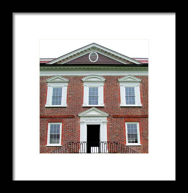 Drayton Framed Print featuring the photograph Drayton Hall Riverfront by Randall Weidner