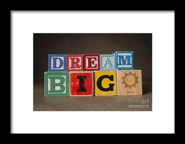 Dream Big Framed Print featuring the photograph Dream Big by Art Whitton