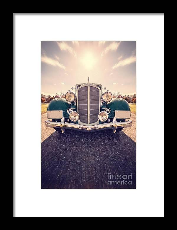 Car Framed Print featuring the photograph Dream Car by Edward Fielding