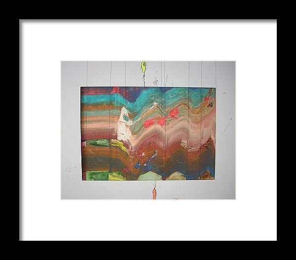 Expressionism Framed Print featuring the painting Dream Catcher by Dmitry Kazakov