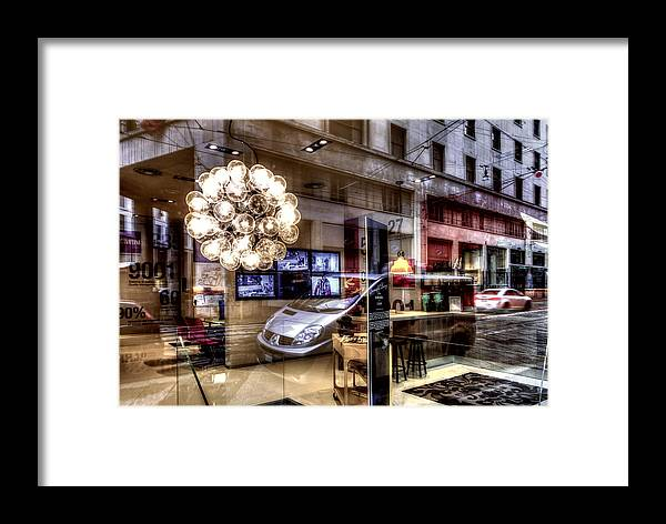 Bokeh2 Framed Print featuring the photograph Dream Cityscape #2 by Roberto Pagani