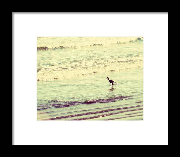 Ocean Framed Print featuring the photograph Dream In Aquamarine by Amy Tyler